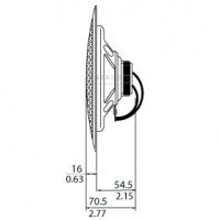 Bosch LHM 0606/10 врізний гучномовець в стелю