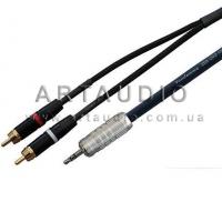 Кабель Jack 3.5mm - 2 RCA Van Damme Cable