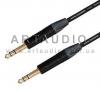 Готовый кабель Jack Stereo 6.3mm - Jack Stereo 6.3mm Klotz MC5000