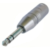 Адаптер XLR male - Jack Stereo 6,3 mm Neutrik NA3MP