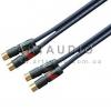 Межблочный кабель INTERCONNECT Van Damme Cable с Neutrik RCA NF2C-B/2