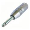 Переходник XLR male - Jack mono 6,3 mm Neutrik NA2MP